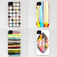 Check out the handpainted iPhone covers by the uber talented Sirin Thada out at: http://society6.com/sirinthada/cases. I want one and I don't even have an iPhone.