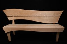 bespoke garden bench by Grant Sonnex - furniture designer and maker