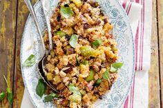 Kijk wat een lekker recept ik heb gevonden op Allerhande! Couscouscaponata met aubergine