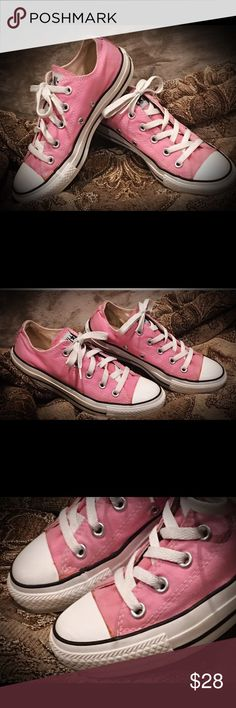Pink Converse Pink All Star Converse size 6                             Great condition! Converse Shoes Sneakers