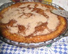Receitas - From our home to yours - Português: Apple coffee cake - Bolo de maçã
