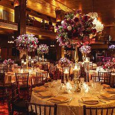 Stunning grand reception at the Cicada Restaurant!