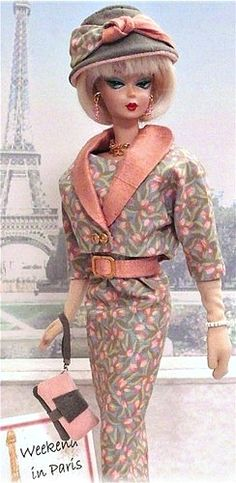 Weekend in Paris *** Paper dolls for Pinterest friends, 1500 free paper dolls at Arielle Gabriel's International Paper Doll Society, writer The Goddess of Mercy & The Dept of Miracles, publisher QuanYin5