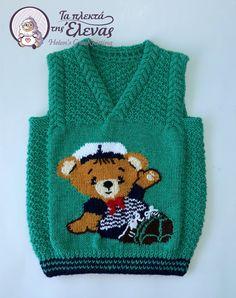 Πλεκτό χειροποίητο με βελόνες και τεχνική intarsia Sweaters, Fashion, Moda, Fashion Styles, Sweater, Fashion Illustrations, Sweatshirts, Pullover Sweaters, Pullover
