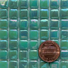Recycled Glass Tile | E14 I iridescent recycled glass mosaic tile