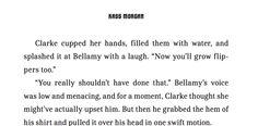 the 100 bellarke kiss