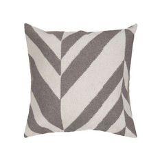 "Laurel Foundry Modern Farmhouse Eleanora Throw Pillow Cover Size: 18"" H x 18"" W x 0.25"" D"