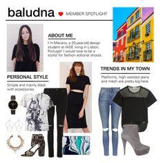 """Member Spotlight: Baludna"" by polyvore ❤ liked on Polyvore featuring Whistles, Balenciaga, Casetify, STELLA McCARTNEY, Laurence Dacade, Nixon, Topshop, adidas, Miu Miu and MemberSpotlight"