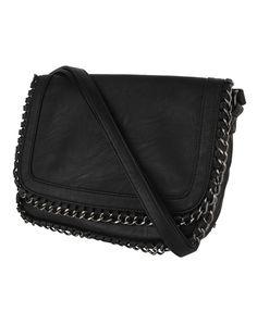 Look 2: Woven Chain Flat Shoulder Bag / F21 $29.80