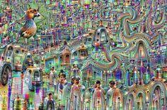 Psychadelická nočná mora. Google ukázal, ako počítače vidia svet | Internet | tech.sme.sk