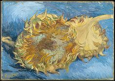 Vincent van Gogh Sunflowers...one of my very favorites...so beautiful on screen but oh so much more in person.