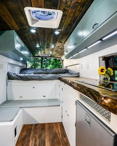 Creative & Unique Sprinter Van Conversion Interiors , Hit the road with your essentials and find out how you're using the van. Since you may see, there are lots of ways it's possible to build out a camper. Sprinter Camper, Camping Car Sprinter, Mercedes Sprinter, Sprinter Van Conversion, Van Conversion Interior, Camper Van Conversion Diy, Camper Life, Diy Camper, Bus Life
