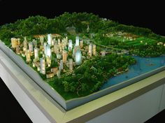 Scale Model Landscaping | Scale Model: Ecology Demo Model For Shudu Elementary School