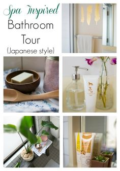 Bathroom Tour {Japanese Style} - Up to Date Interiors