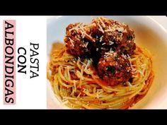 Cómo hacer Espaguetis con Albóndigas #espaguetis #pasta #albóndigas Spaghetti, Ethnic Recipes, Food, How To Make, Easy Recipes, Ethnic Food, Essen, Meals, Yemek