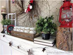 Shelf decor I am soooo doing this, aaaaaaahhhhh STARS!!!