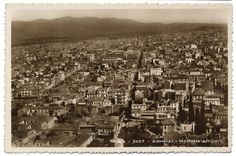 3127 Greece Athens Old Postcard Not posted Original Old Postcards, 1930s, Paris Skyline, City Photo, The Past, History, The Originals, World, Athens Greece