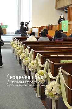 20110212e | Blog | 教堂佈置 婚禮佈置 Church Decoration Wedding Decoration - Yahoo! Blog