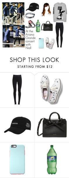 """""""At the Ariana Grande concert with Niall"""" by tayler-dukes ❤ liked on Polyvore featuring GET LOST, NIKE, Keds, OtterBox, OneDirection, NiallHoran, ArianaGrande and onedirectionset"""