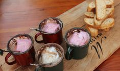 Once the fire has burned down and your guests are feeling replete, it is the perfect time to wind up the occasion with a boozy, warming drink. Yummy Treats, Delicious Desserts, Cool Things To Make, Biscotti, Almond, Tasty, Dishes, Bar, Vegetables