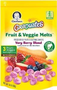 Gerber Graduates Fruit and Veggie Melts
