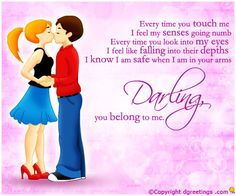 Dgreetings.......    i know I m safe when i m in ur arms...luv u...<3<3