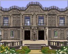 Arda Sims: Châteaux forts et châteaux
