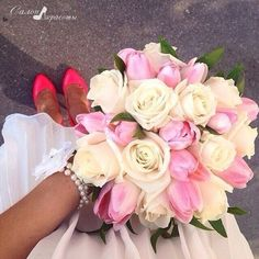 Image de flowers, rose, and pink