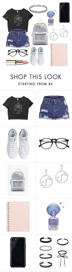 """""""Untitled #517"""" by dolrebeca ❤ liked on Polyvore featuring adidas and Belkin"""