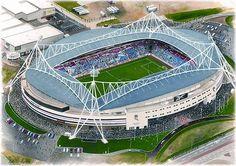 Reebok in art, home of Bolton Wanderers F.C. Great gifts @ sportsstadiaart.com