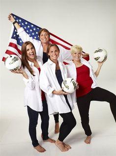 Behind The Scenes: U.S. Women's Soccer - Soccer Slideshows   NBC Olympics