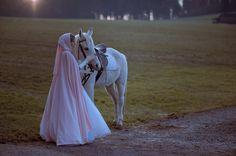 Umhang Aschenbrödel mit Kapuze, romantische Hochzeit, Brautkleid, Anfertigung, Märchen, Prinzessin, Cinderella