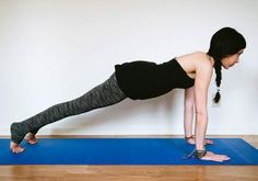 Yoga for Back Pain: Plank