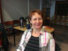 Aija Lybeck on Rantasalmella Mäntylän keittiössä keittäjänä.