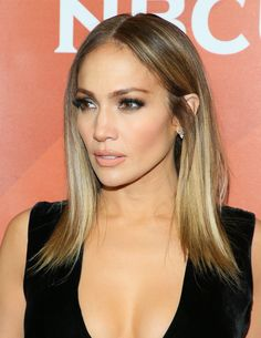 Jennifer Lopezs New Hairstyle Will Be Your Spring Cut Balayage
