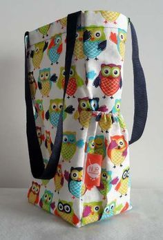 bolso matero paso a paso - Buscar con Google Cool Diy Projects, Sewing Projects, Fabric Bags, Diy Clothes, Diaper Bag, Apron, Tote Bag, Crochet, Pattern