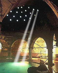 The Rudas Turkish bath in Budapest
