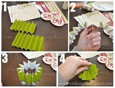 How to make pinwheels for the printable banner