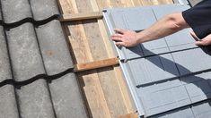 Buitenzijde dak na-isoleren met Recapan dakelementen – BouwTotaal