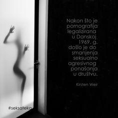 "#pornografija ""#legalizacija #seksoteka #seksualnost #danska #drustvo #KirstenWeir"