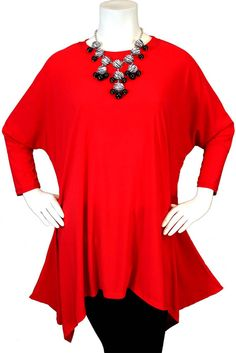 Plus Size Tunic Top Adorable  Stylish and by Dare2bStylish on Etsy, $39.00
