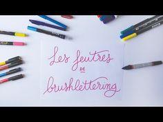 Quels feutres / brush pen choisir pour du brush lettering | Matériel calligraphie & lettering