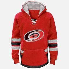 Carolina Hurricanes Reebok Youth Retro Skate Hoodie - Red - $59.99