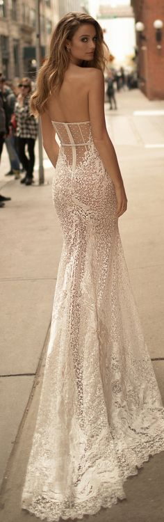 Wedding Gown Berta Wedding Dress Collection Spring 2018 - From chic pieces to sexy silhouettes that highlight every feminine curve oh-so-glamorously; Berta Wedding Dress Collection Spring 2018 is simply fabulous. Sweetheart Wedding Dress, Perfect Wedding Dress, Dresses Elegant, Beautiful Dresses, Wedding Dresses 2018, Bridal Dresses, Gown Wedding, Lace Wedding, Bridal Collection