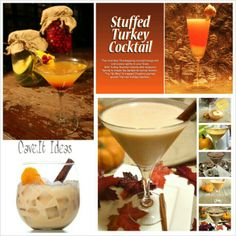 Thanksgiving cocktail ideas