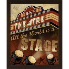 @Overstock - Artist: Conrad Knutsen Title: Life's Theatre Product type: Embellished framed art printhttp://www.overstock.com/Home-Garden/Conrad-Knutsen-Lifes-Theatre-Embellished-Framed-Art-Print/5711918/product.html?CID=214117 $114.99