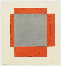 "lnwolffeugene: "" Robert Mangold | Frame Painting (Study), 1985 """