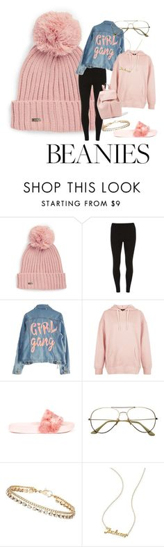 """""""BabyGirl."""" by asapnainai ❤ liked on Polyvore featuring Calvin Klein, Dorothy Perkins, High Heels Suicide, New Look, Puma, ZeroUV, Mark & Graham and Mansur Gavriel"""