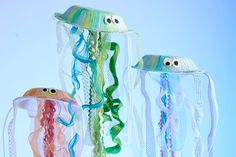 Image result for paper plate jelly fish