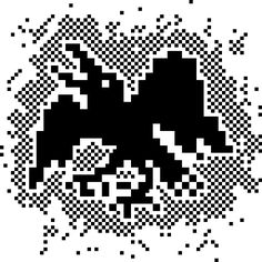 Title: Crow (8bit Pixel Art) --- Artist: Sansern 'Zooddooz' Rianthong www.zoodstudio.com --- Year: 2012